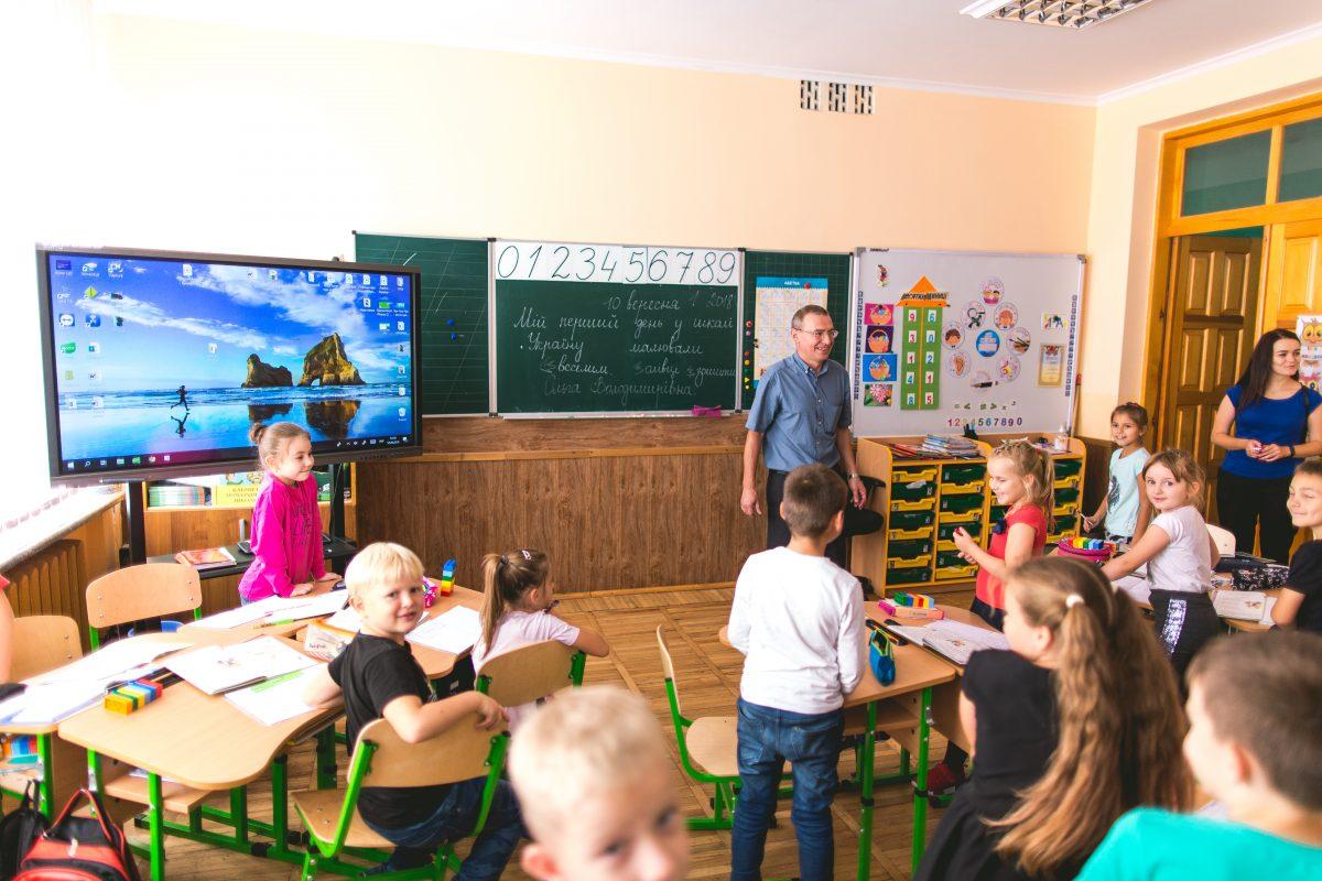Школа, в яку тягнуться діти: тут є сучасний стадіон, сонячні батареї та відеоспостереження