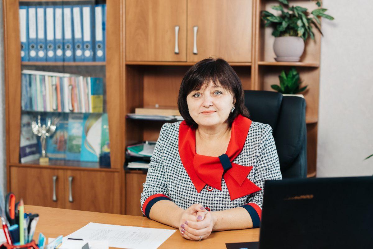 Вчителька Ольга Сергіївна