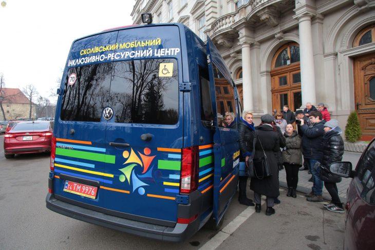 На Львівщині працюватиме мобільний інклюзивно-ресурсний центр