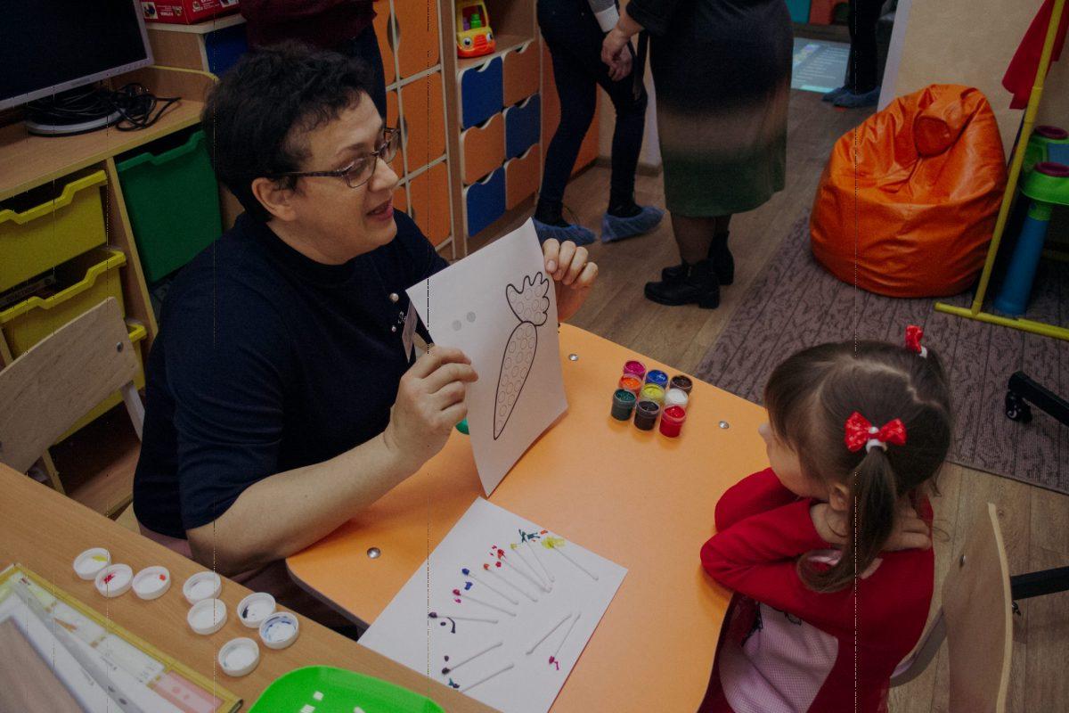 вчитель-дефектолог, тифлопедагог Оксана Сульжина